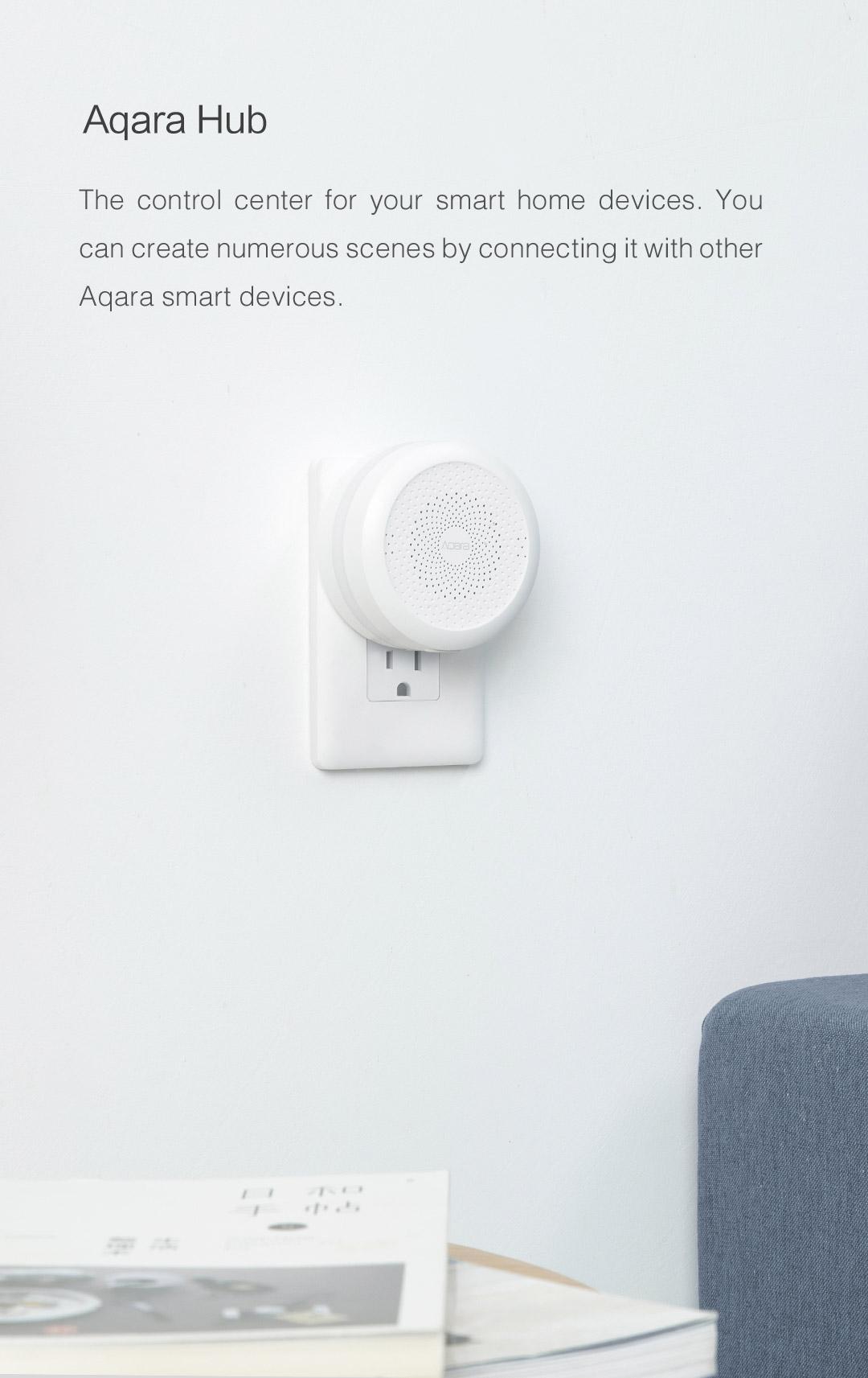 Aqara smart home kit's control center - Aqara Hub