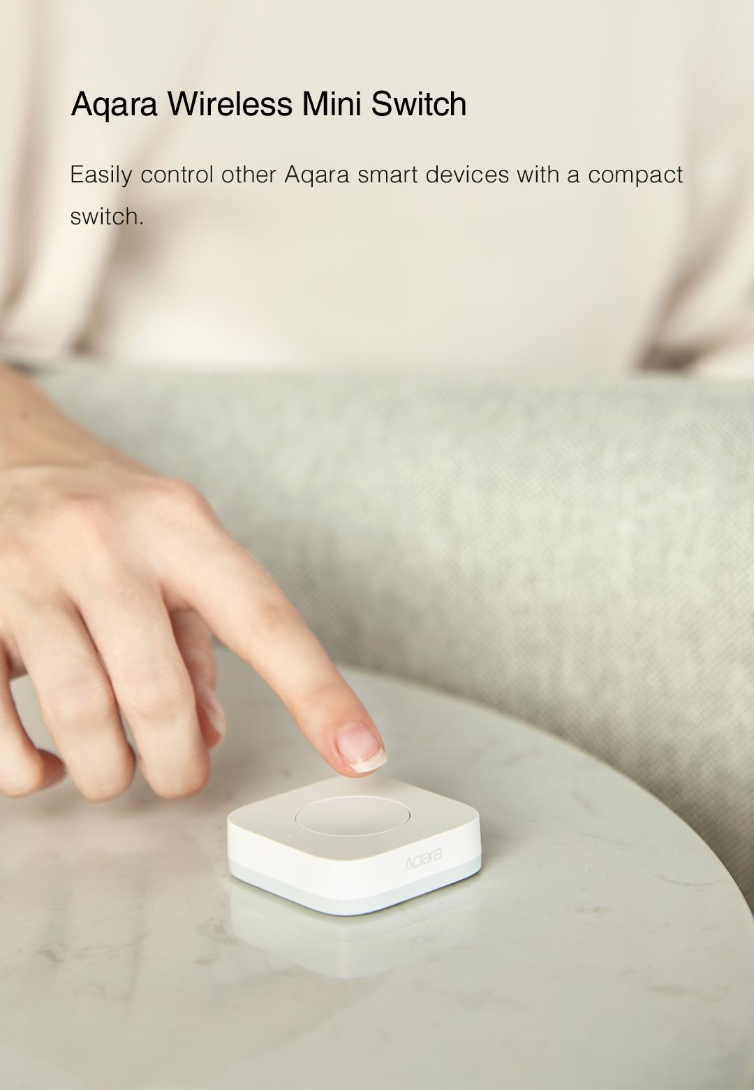 Aqara smart wireless light switch - homekit remote switch for Aqara smart devices