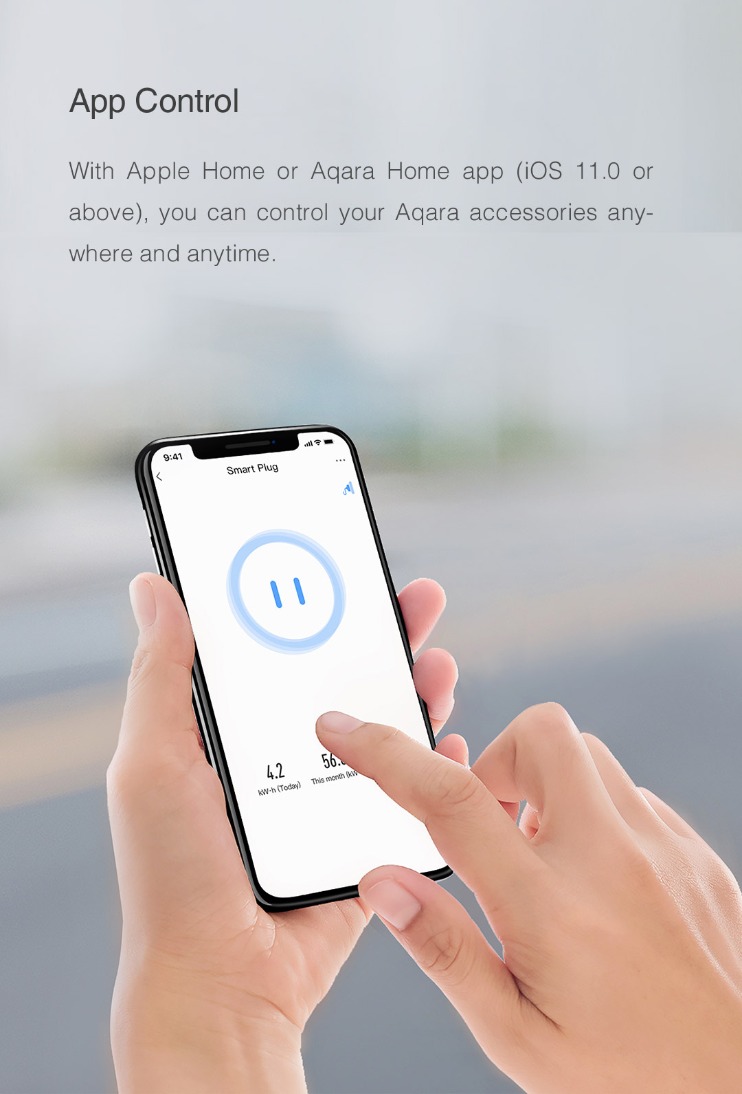 App remote control: you can control your Aqara accessories anywhere and anytime