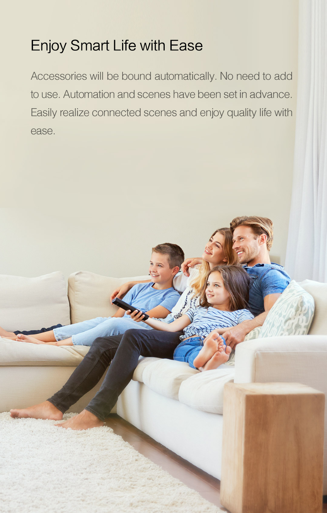 Build your smart home with Aqara and enjoy smart life with ease