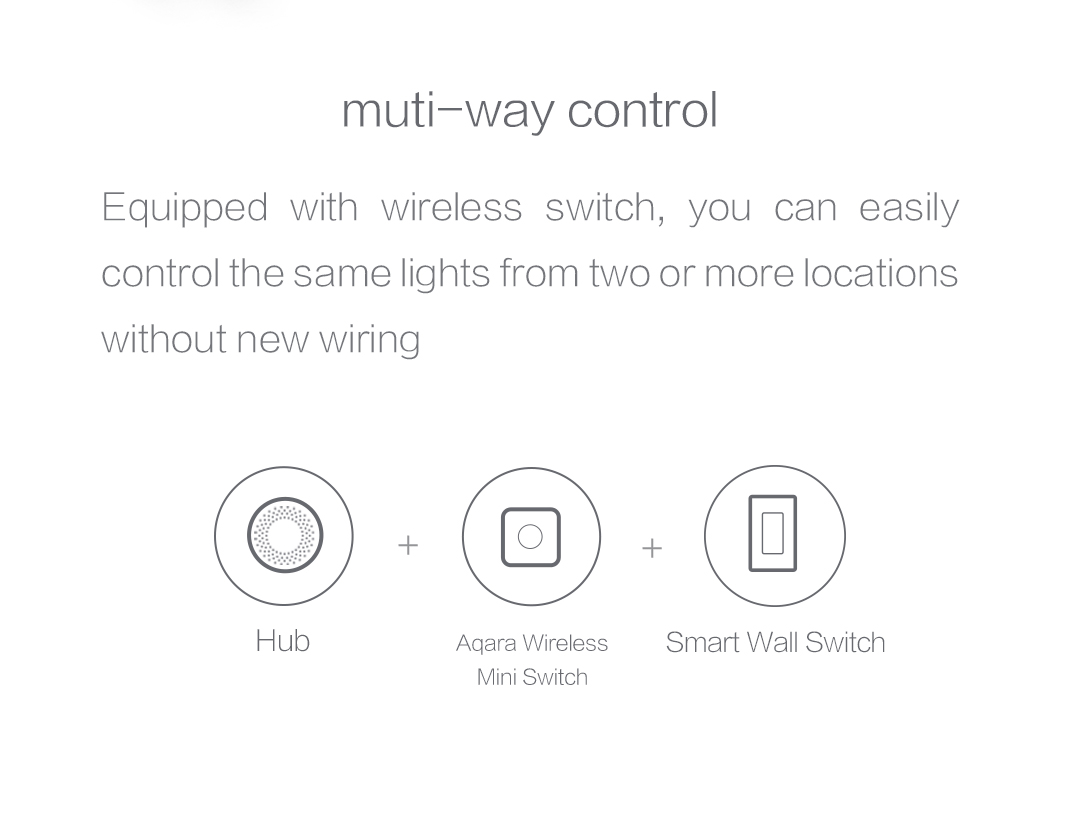 Remotely control lights with our smart switch and wireless switch without new wiring