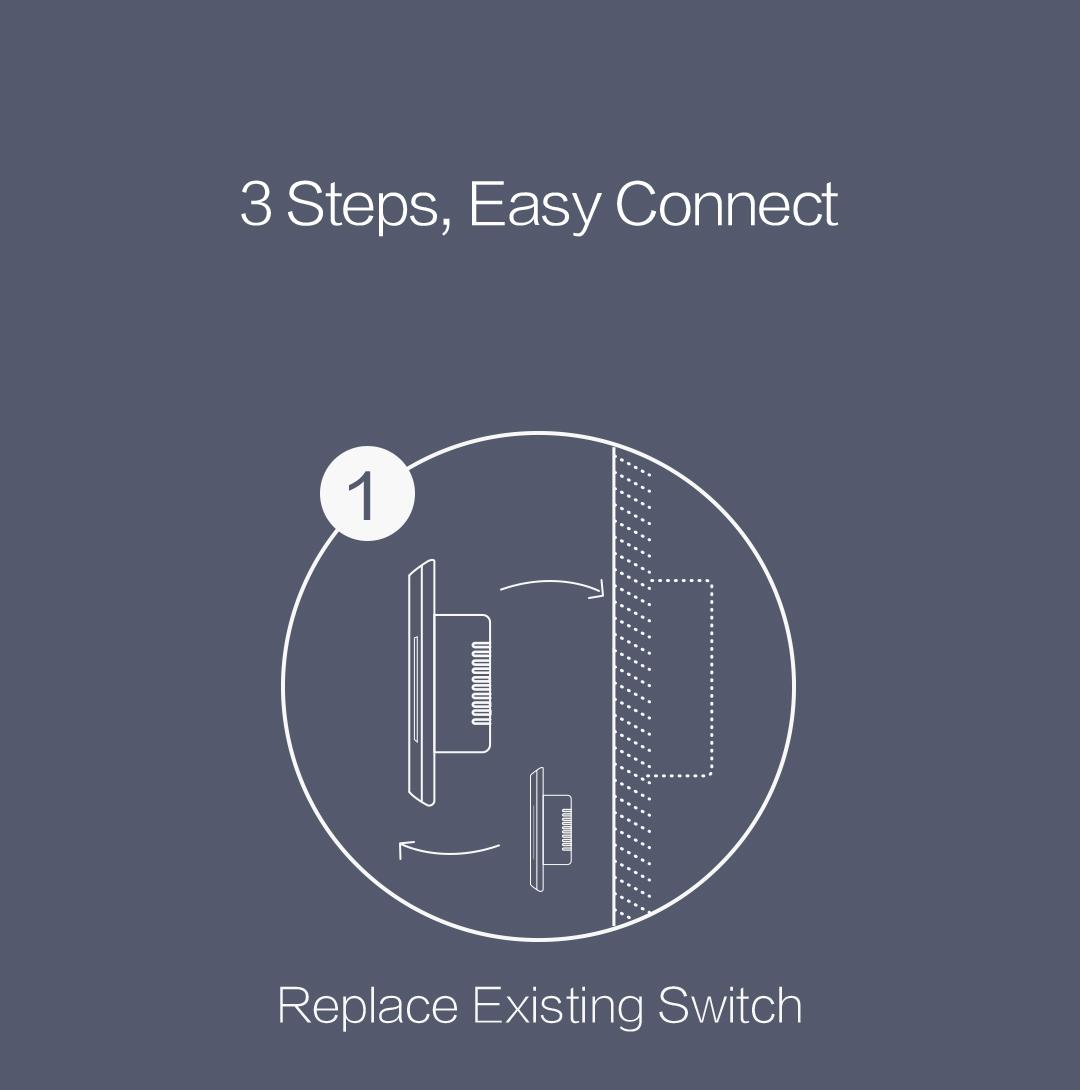 Aqara smart wall switch with neutral installation