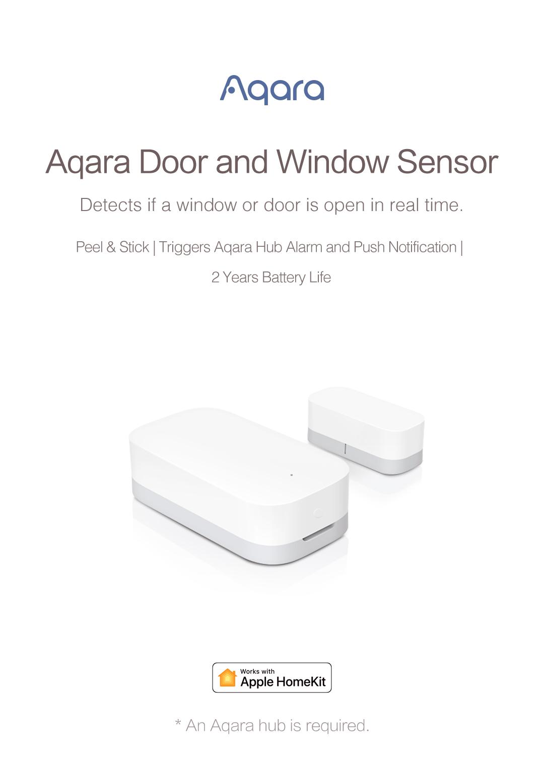 aqara homekit door/window sensor -wireless smart door/window sensor