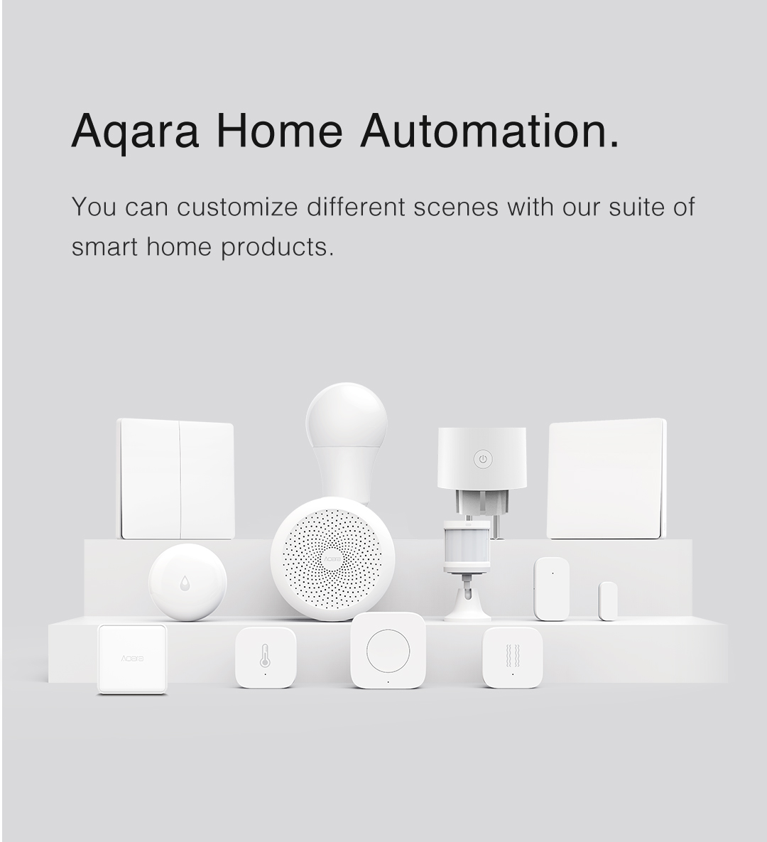 Porfolio of smart home system and devices
