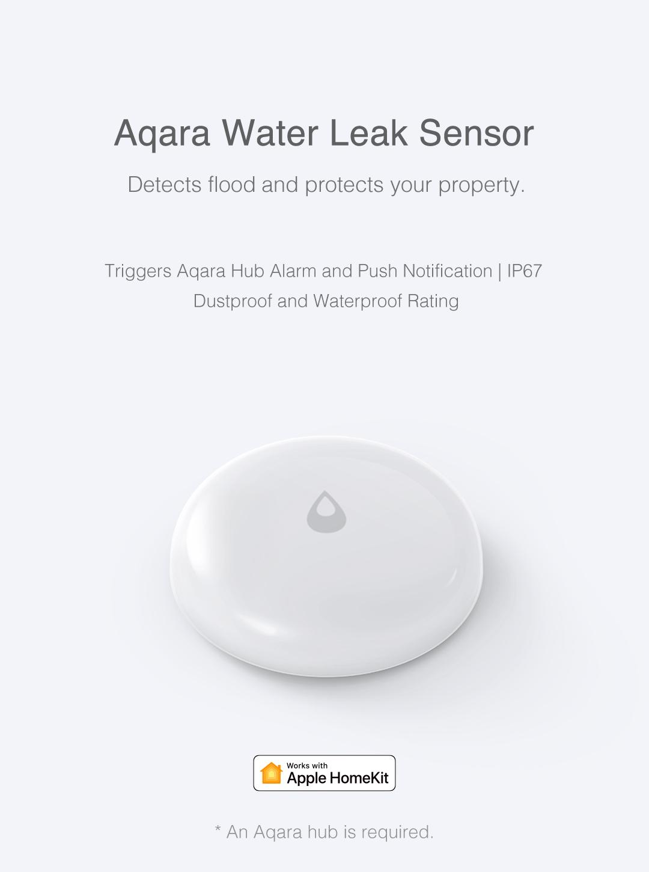 Aqara smart water sensor - wireless water leak detector
