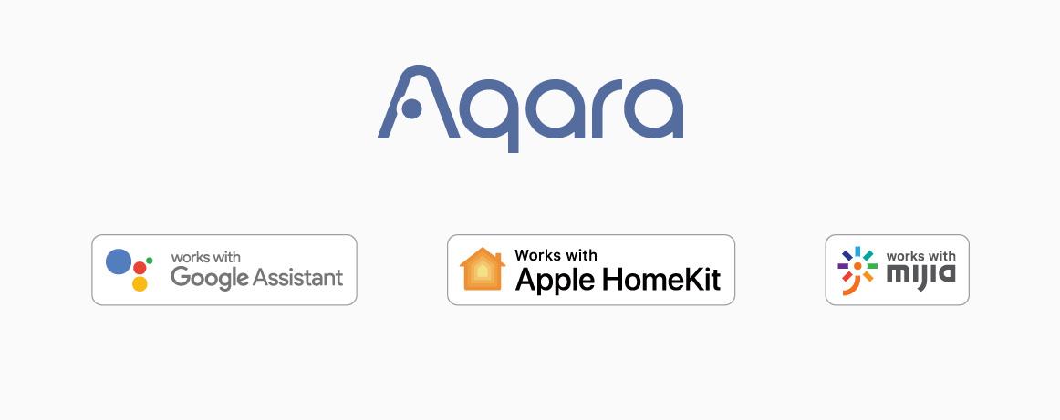 Aqara compactibility with HomeKit, Google Assistant, Alexa & Mijia