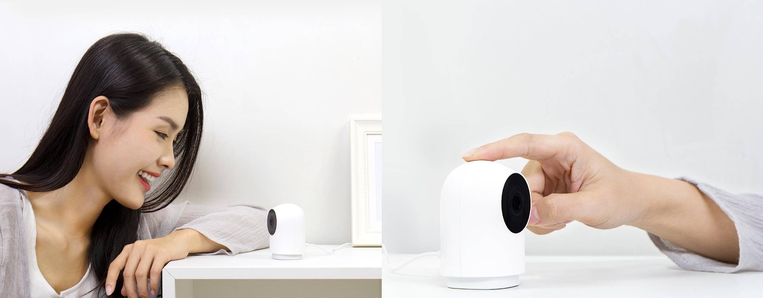 Aqara 智能摄像机 G2 - 双向语音一键视频留言
