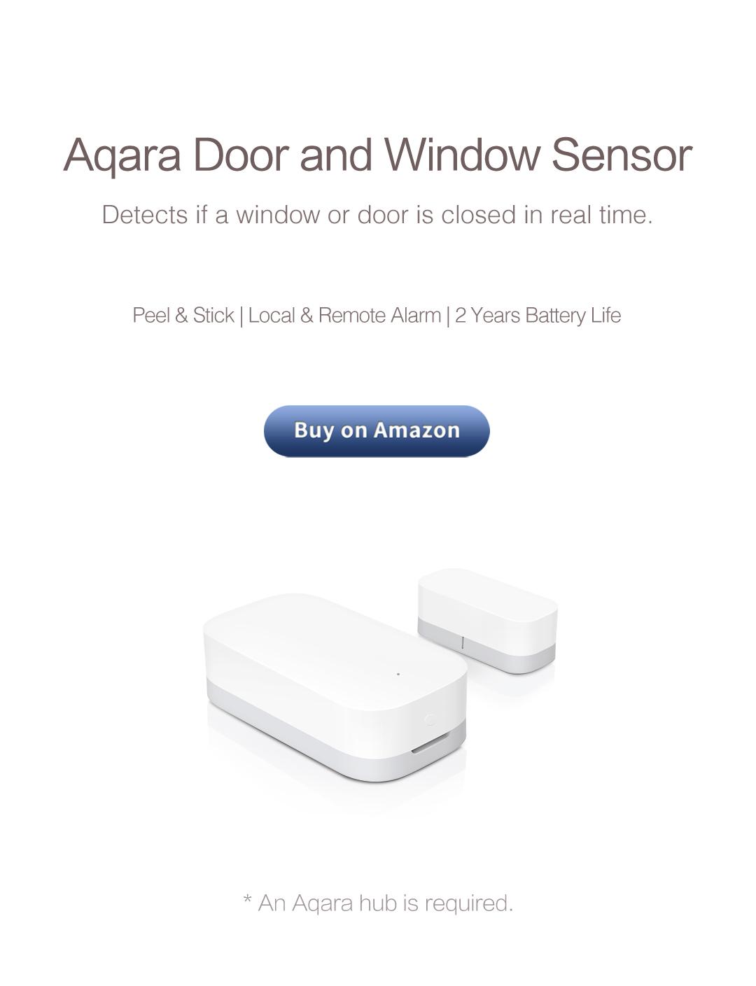 Aqara door window sensor - must-have door and window alarms