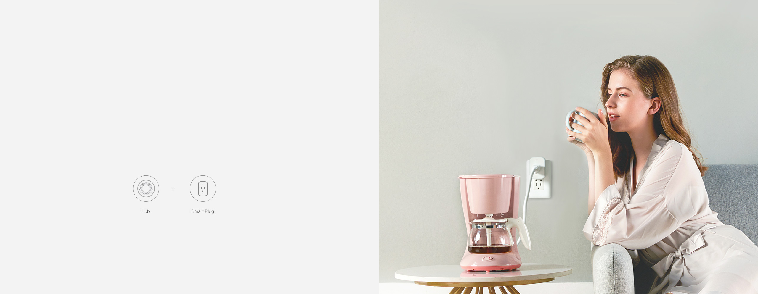 Automate your coffee maker with Aqara us hub and Aqara smart plug.