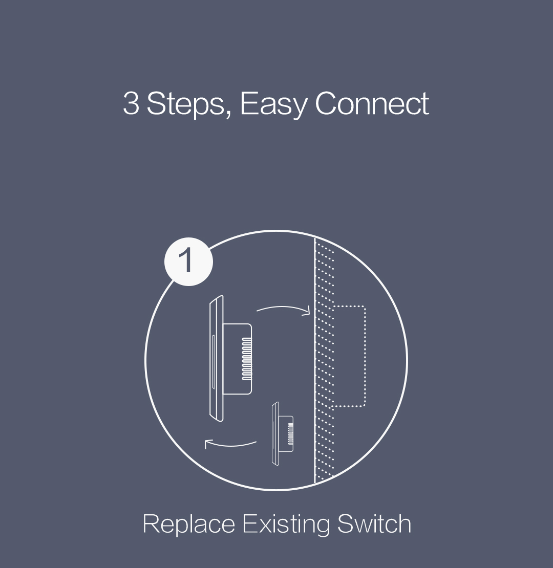 Aqara smart wall switch without neutral installation