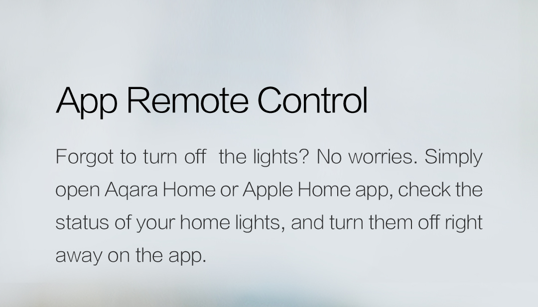 App remote control with our smart switch no neutral - turn lights off right away on your phone.