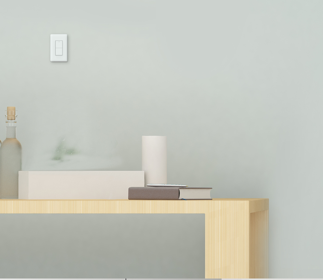Smart wall switch no neutral compatible with HomeKit Siri, Google Assistant and Amazon Alexa