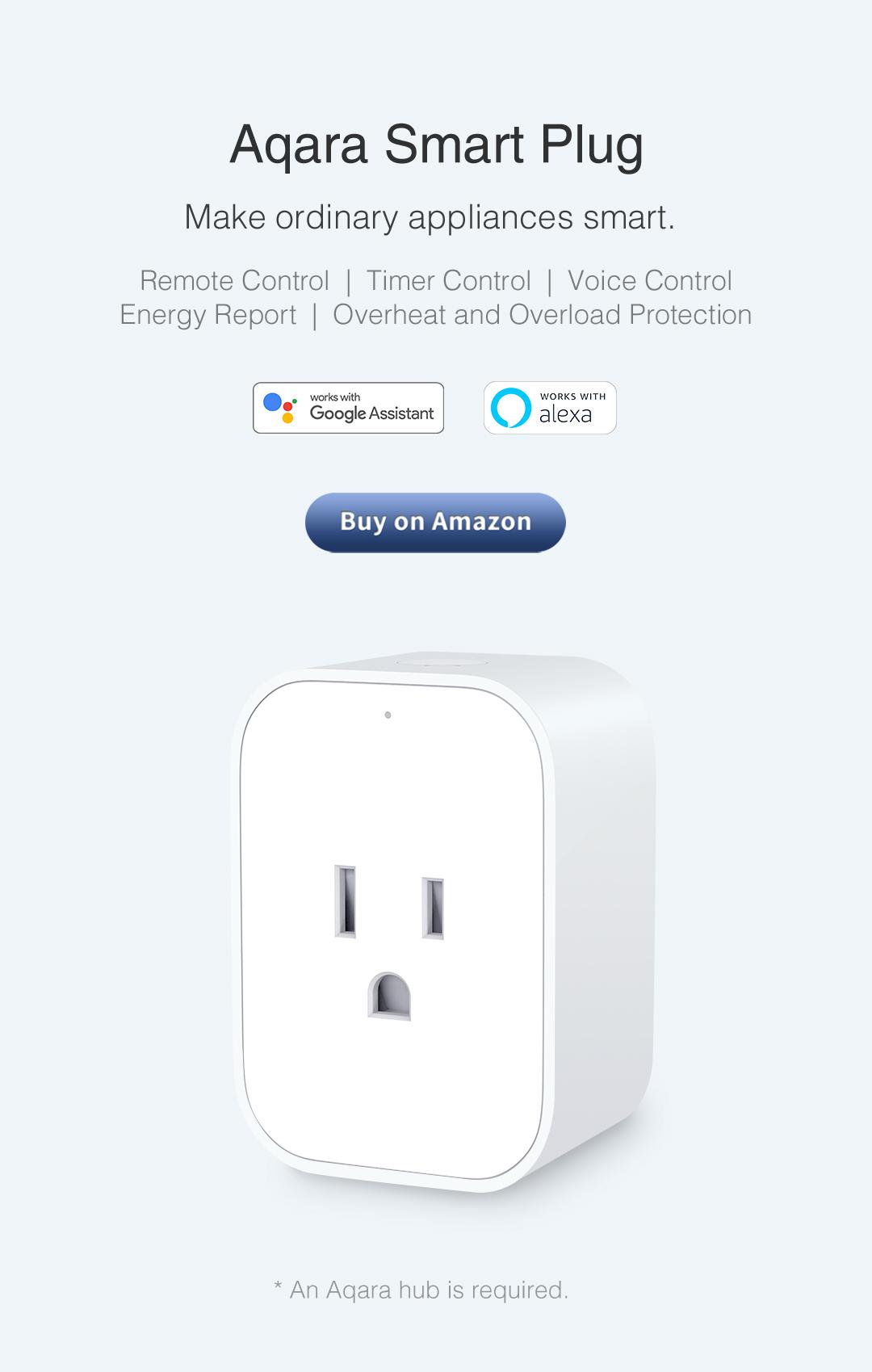 Smart outlet for homekit/google home/alexa