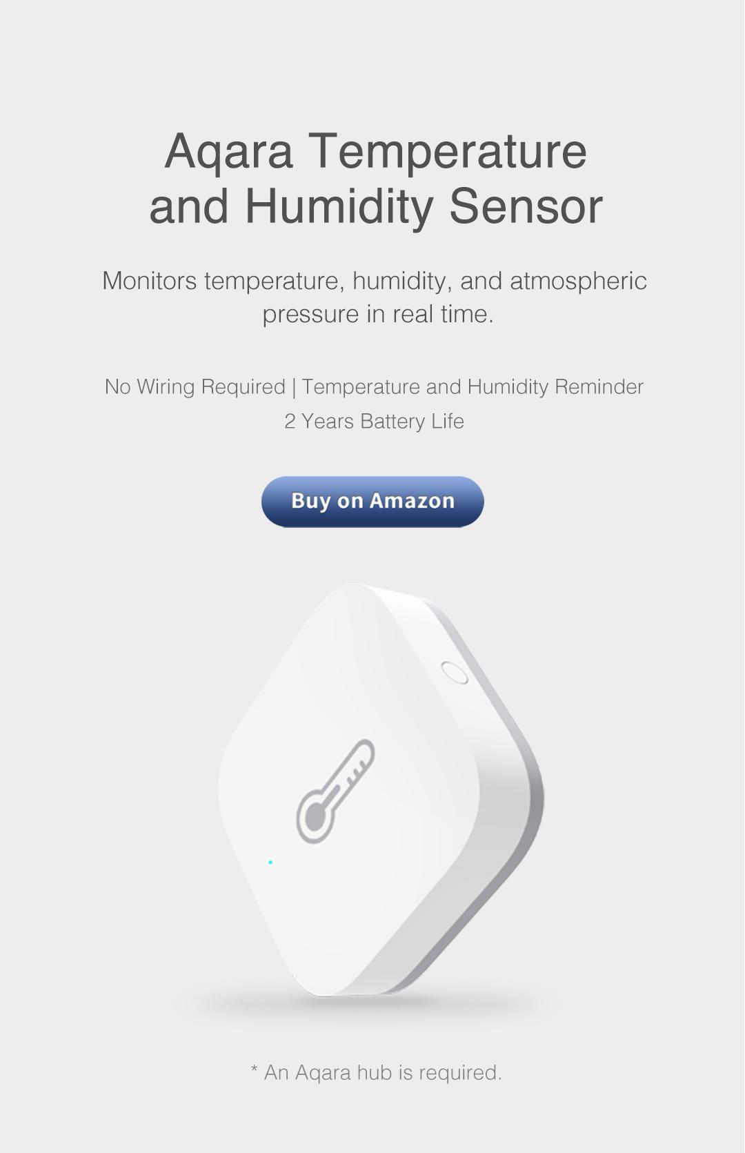 wireless temperature sensor for smart home